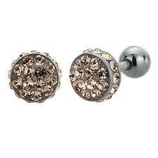 stainless steel stud earrings accent 316l surgical stainless steel jewelry ear