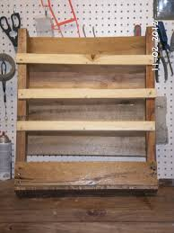 Wood Wall Mount Spice Rack Ana White Pallet Shelf Spice Rack Diy Projects