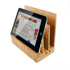 Bedside Charging Station Bamboo Ipad Charging Station Homex