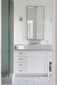 restoration hardware bathroom mirror cabinet paint color is dunn