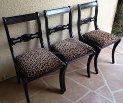 Example Of Animal Print Dining Chairs That Comfort Subuha - Animal print dining room chairs