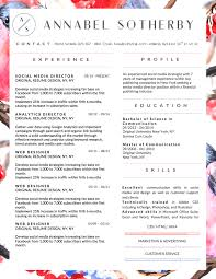 annabel sotherby beautiful resume template annabel sotherby