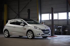 peugeot 208 2004 peugeot le mans dealer creates 208 rallye concept should the