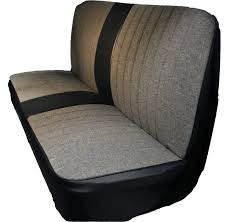1941 1946 chevy gmc pickup tweed designer insert seat cover with