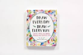 draw every day draw every way guided sketchbook sketch paint