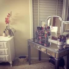 Makeup Vanity Mirror Furniture Interesting Hayworth Vanity For Inspiring Makeup