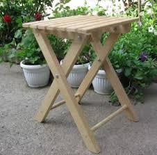 free folding stool plans use for ironing board next to sewing