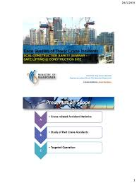 tower crane operation safety ppt the best crane 2017