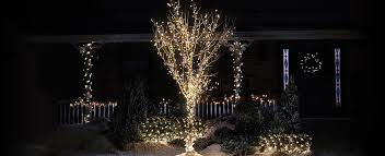 christmas lights tree wrap how to wrap a tree with christmas lights canadian tire