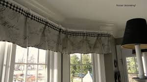 Dining Room Valances by Forever Decorating My New Gray Dining Room