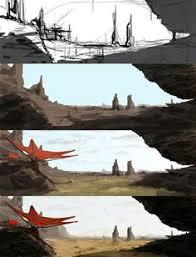 turn sketches into fantastic digital paintings tutorials