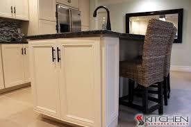 cabinet doors cover hidden storage in island deerfield assembled