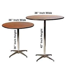 table rentals miami 36 inch high top table rentals in miami