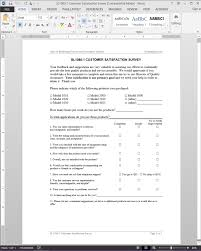 customer satisfaction report template customer satisfaction survey template sl1080 1