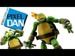 revoltech teenage mutant ninja turtles michelangelo figure video
