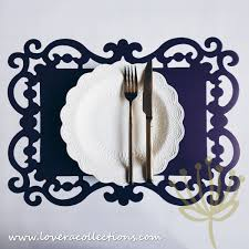 bitossi italy baroque placemat linen placemats u0026 other home