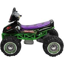 grave digger monster trucks monster jam grave digger quad 12 volt battery powered ride on