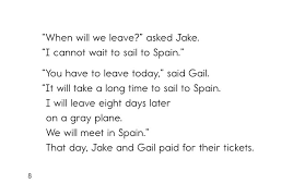 jake and gail go to spain