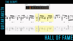 wedding dress chord of fame by the script fingerstyle guitar pro tabs pdf