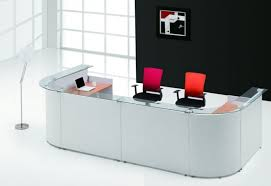 Salon Front Desk Furniture Desk Ct 135 Modern Salon Front Office Reception Regarding