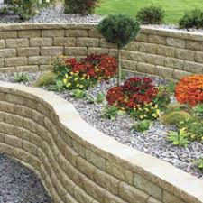 Retaining Wall Patio Design Shop Pavers Retaining Walls At Lowes