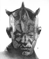 darth maul drawing took me around 8 hours to complete starwars