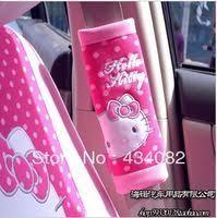 cute cartoon kitty car mirror pendant car interior