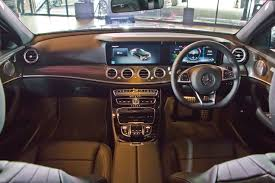 mercedes benz silver lightning interior mercedes benz malaysia launches ckd e class w213 starting from