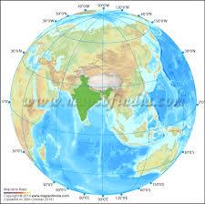 globe earth maps india globe