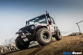 mahindra jeep thar 2016 mahindra thar daybreak test drive review latest automotive