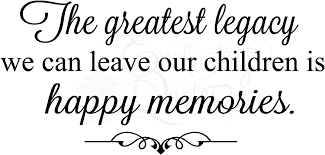 family quotes vinyl wall decals happy memories quote