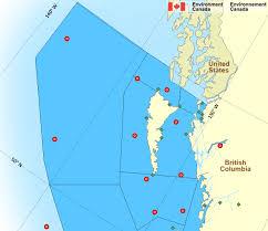 map of east canada dixon entrance east coast environment canada