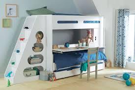bureau superposé lit superpose avec bureau enfant verbaudet chambre fred