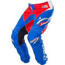 blue motocross gear o u0027neal element afterburner motocross dirtbike gear 2017