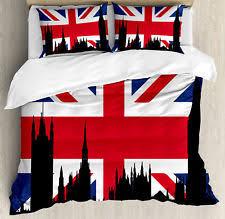 One Direction Comforter Set Union Jack Bedding Ebay