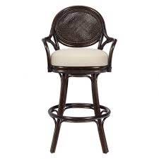 Leather Bar Stool With Back Sofa Amusing Marvellous Leather Bar Stools With Arms Marvelous
