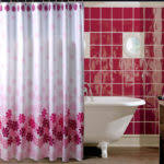 Burgandy Shower Curtain Burgundy Shower Curtain Red And Yellow Decorating With Burgundy