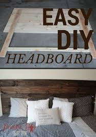 How To Make King Headboard by Diy How To Make Your Own Wood Headboard Diy Headboards Queens