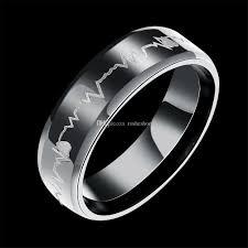 men s ring 2018 men s rings hearts simple classic rings