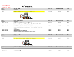 100 bobcat s185 stabilisers manual construction equip parts