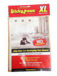 amazon com pioneer pet sticky paws on a roll cat deterrent white