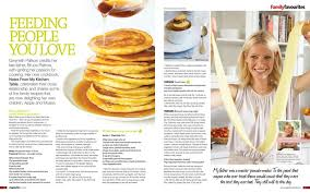 Issue  Magazine Vegetarian Living Magazine - Gwyneth paltrow notes from my kitchen table