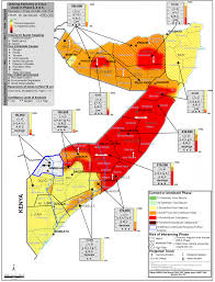 Map Of Somalia Ipc Map Fsnau