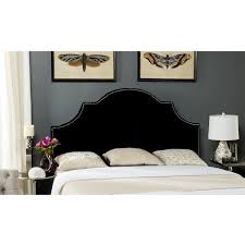 Black Upholstered Headboard Queen by Best 25 Black Upholstered Bed Ideas On Pinterest Modern Bedding