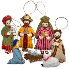 thai nativity ornament set worldcrafts