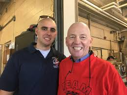hyannis fire district holds shave off to benefit retired