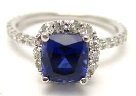 harry winston engagement ring 2 10ctw faceted blue sapphire u0026 diamonds engagement ring harry