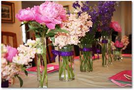 Diy Flower Arrangements How To Make Peony Centerpieces For A Diy Wedding Shower Budget