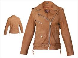 womens leather motorcycle jacket womens brown leather motorcycle jacket with side lace u0026 zip out