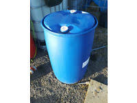 plastic barrels stuff for sale gumtree